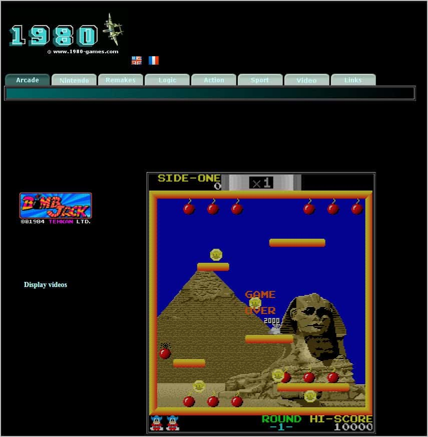 Games: Tons Of Classic Arcade Games