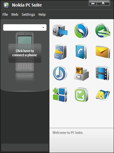 Nokia PC Suite Version V7.2 Latest Free Download