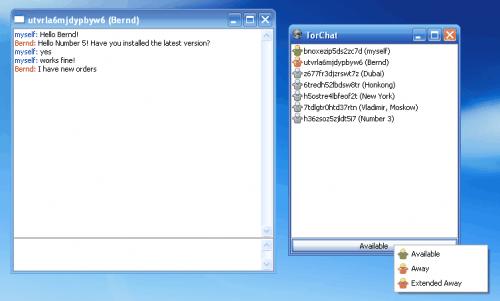 Windows 7 TorChat 0.9.9.553 full