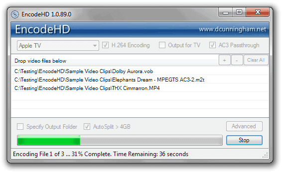 video encoding softwares