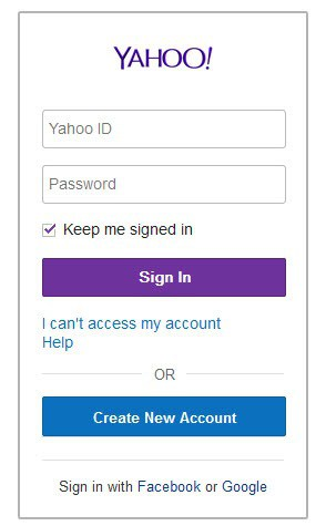yahoo sign-in