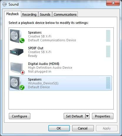 No Sound In Windows 7 Try This Fix Ghacks Tech News