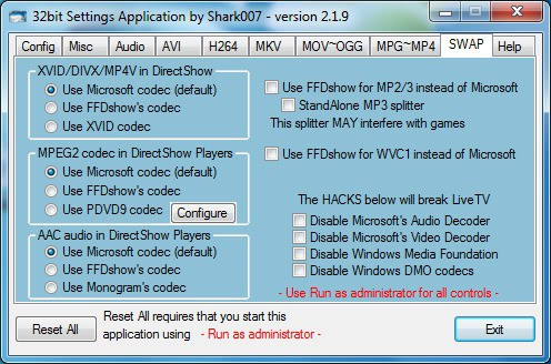 Codec Pack для Windows 7 - фото 4