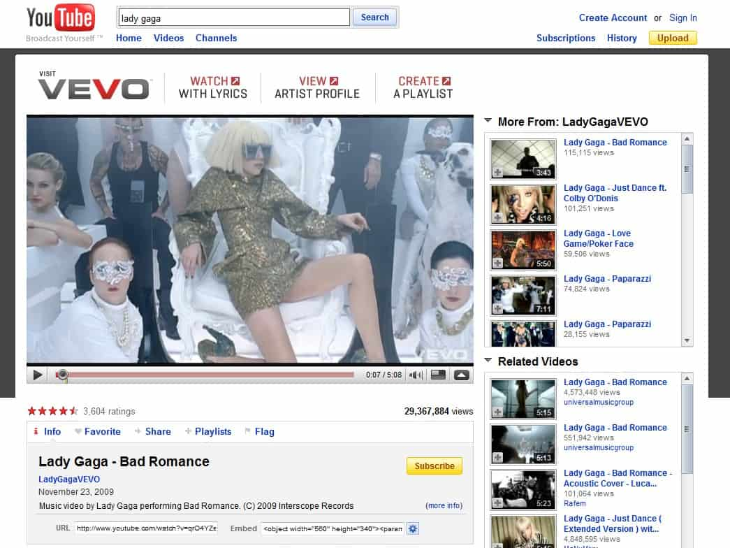 YouTube And Vevo: What's The Deal?