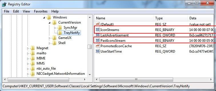 windows 7 tray icons