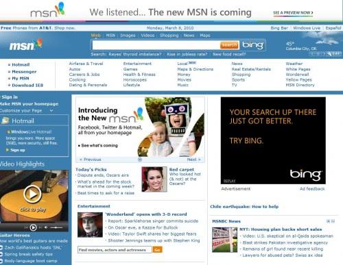How To Access The Old MSN Website - gHacks Tech News