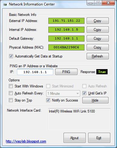 computer network information