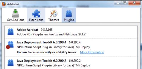Java deployment toolkit 7.0.50.255