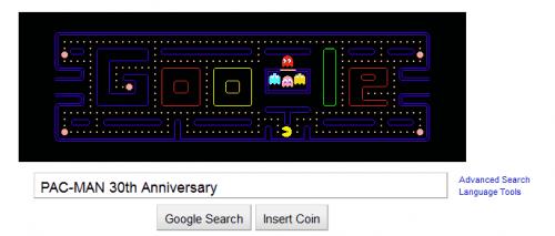 google pacman sound bug
