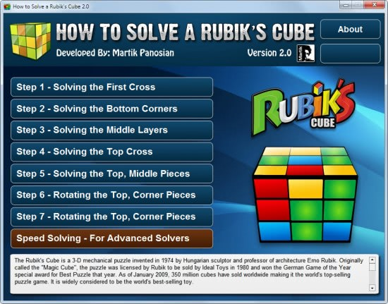 SACO INVEST: How To Solve A Rubik's Cube