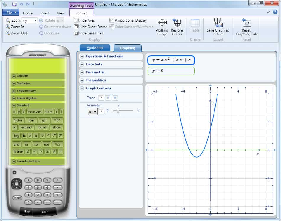 Microsoft Mathematics Now Free Perfect Tool For Math