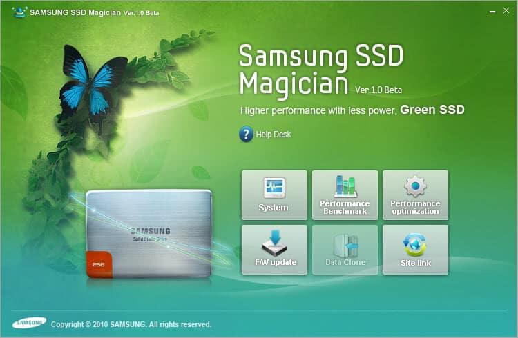 samsung pm851 ssd drive firmware update