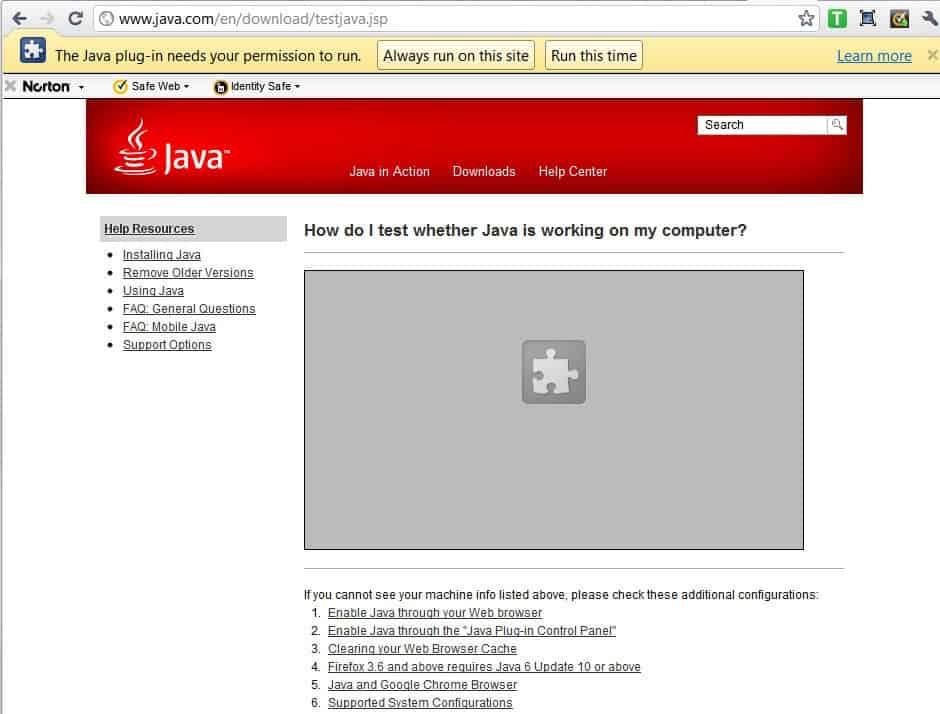 скачать Java Plugin - фото 2