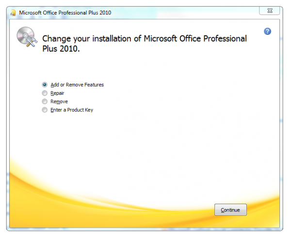 Overcoming office 2010 starter purchase problems ghacks tech news - Office professional plus 2010 ...