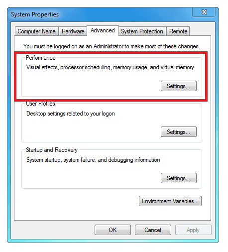Download free Swap File Size Vista software