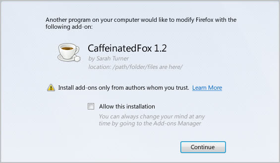 firefox-third-party-software-installation