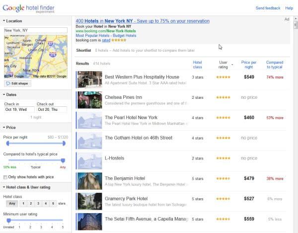 Google hotel finder google maps mashup ghacks tech news for Google hotes