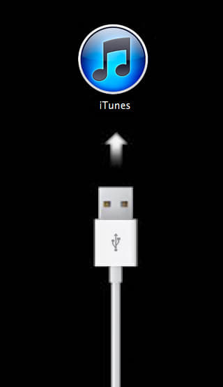 ios recovery mode indicator