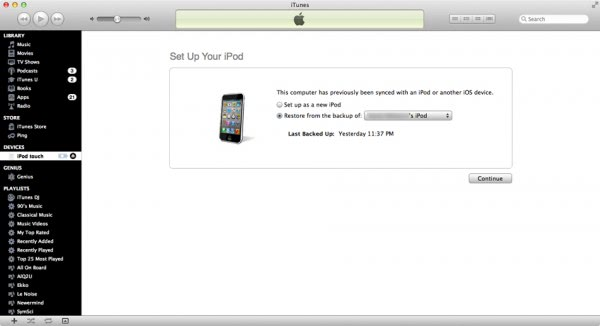 ipod iphone recovery mode fix