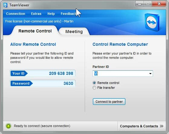 TeamViewer 7 Available, Lots Of New Features - gHacks Tech ...