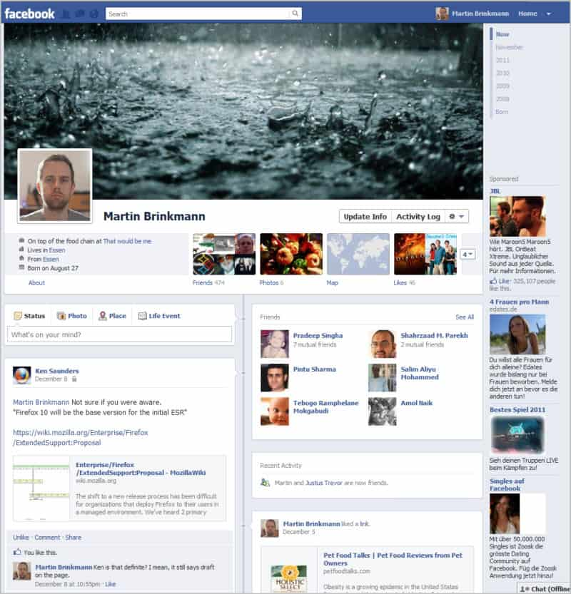 How To Avoid Facebook Timeline Profiles