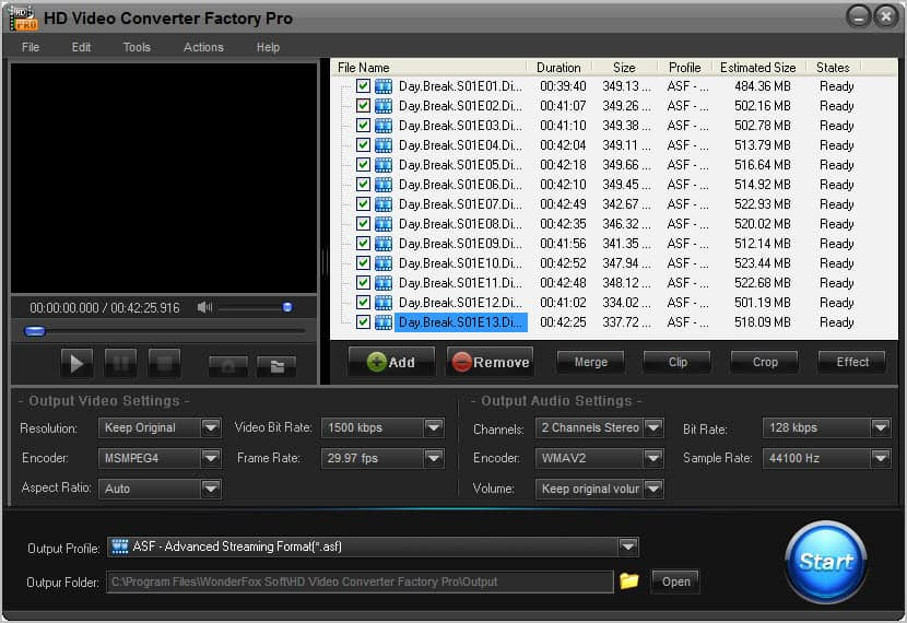 Hd Video Converter Factory Pro 3 Review Ghacks Tech News