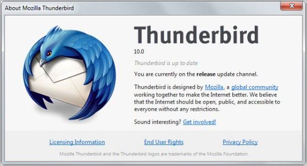thunderbird 10