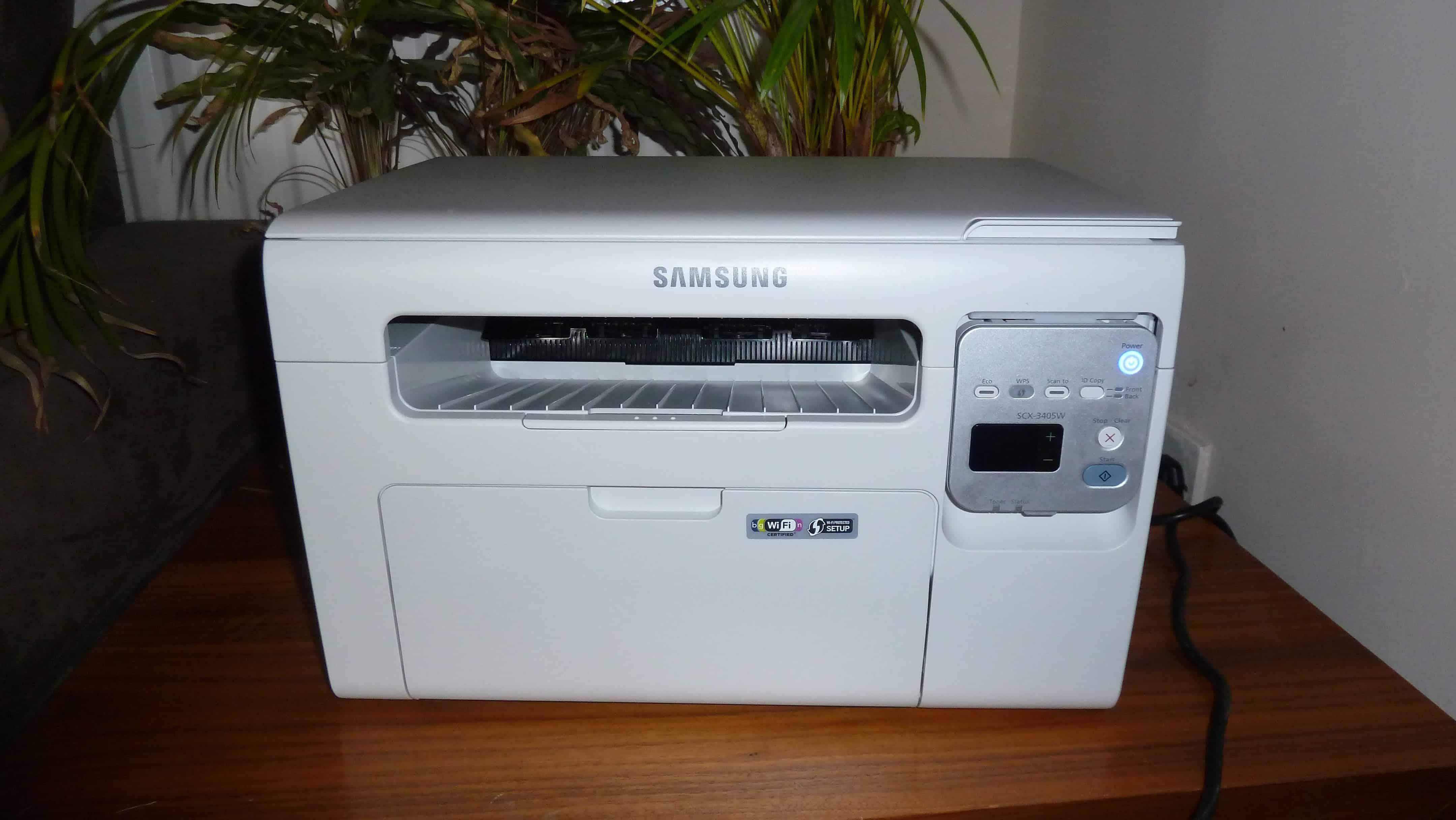 samsung scx 3405w mono wireless laser printer review ghacks tech news. Black Bedroom Furniture Sets. Home Design Ideas