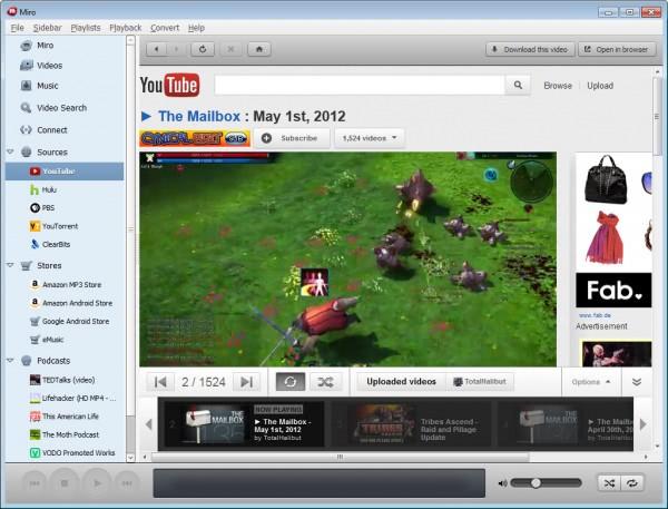 media player miro 5.0