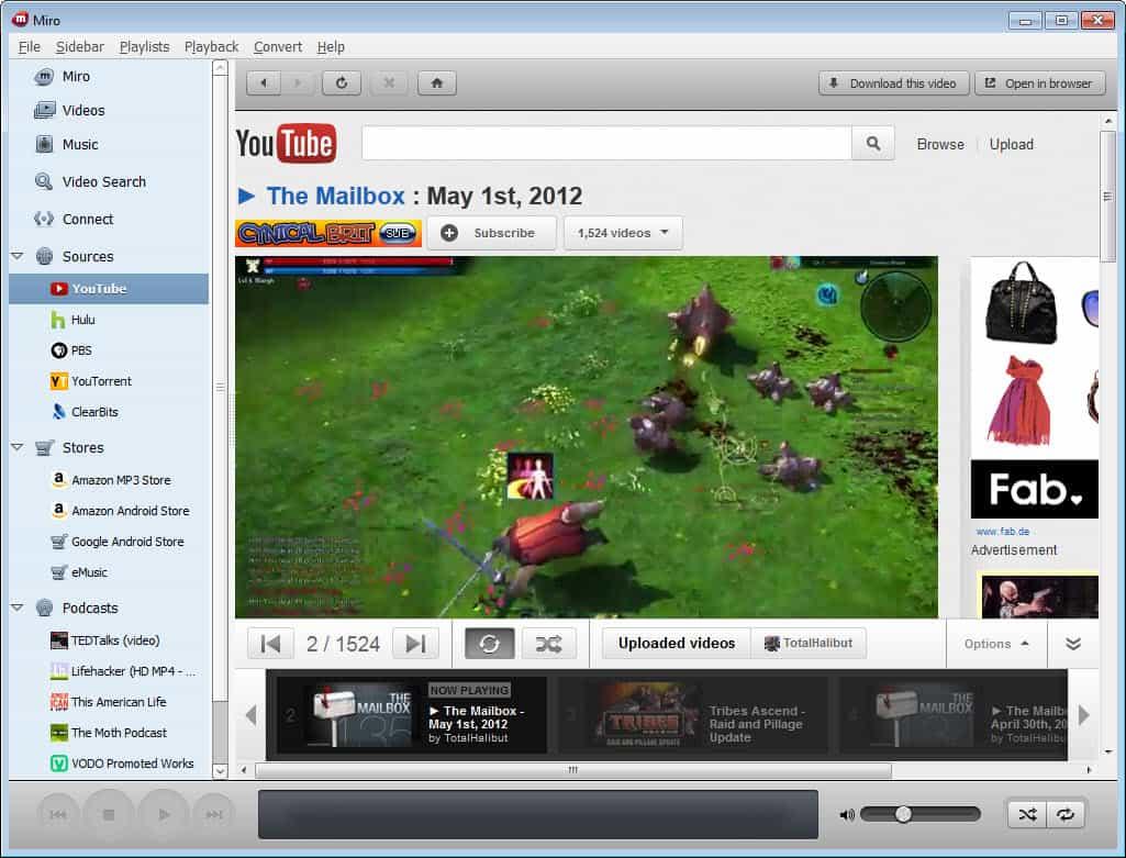 Miro Media Player 5.0