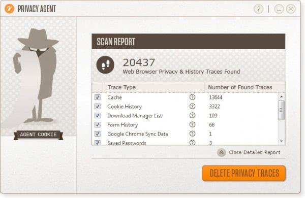Rimuovere tutti i dati di navigazione dai browser con Privacy Agent