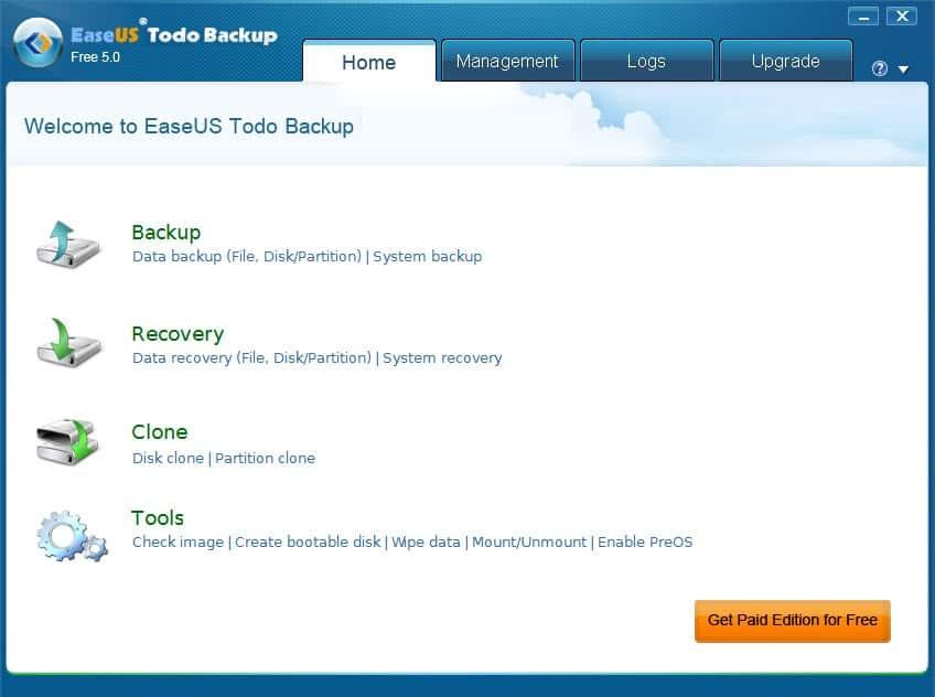 easeus todo backup 5.0