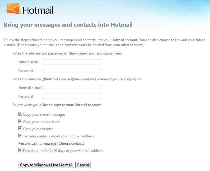 how to delete old email addresses in gmail
