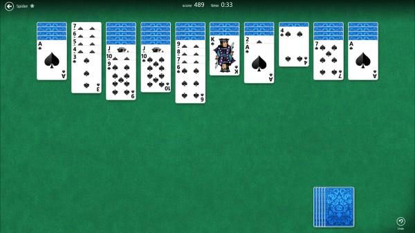 spiel spider solitaire