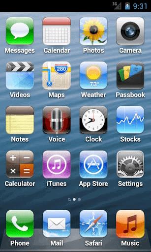 лаунчер под айфон на андроид - фото 5