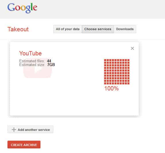 Download your YouTube video history from Google Takeout ...