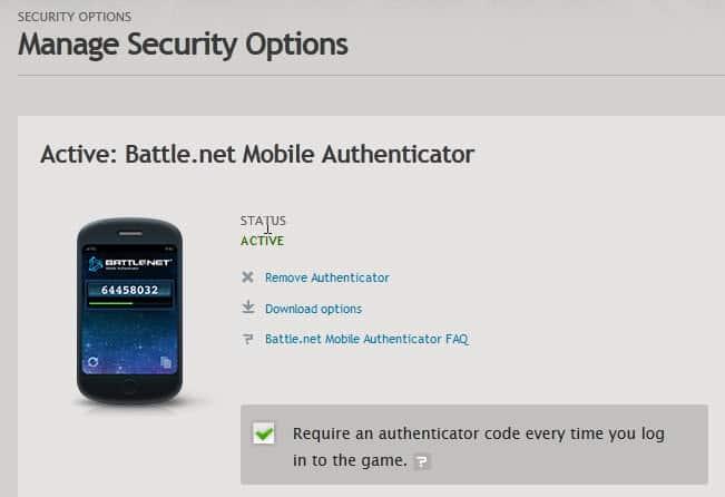 battle.net remove authenticator