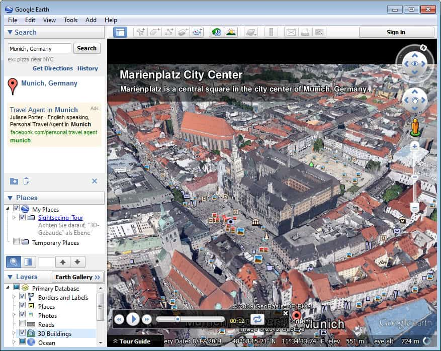 Google Earth 7 with Tour Guides and 3D Imagery « WTI NewsBlog