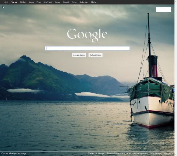 Cara Merubah Background Homepage Google