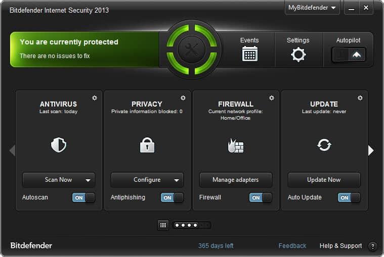 Bitdefender Internet Security 2013 review - gHacks Tech News