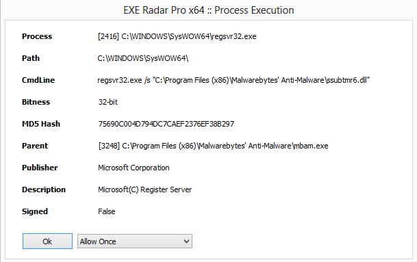 exe radar pro