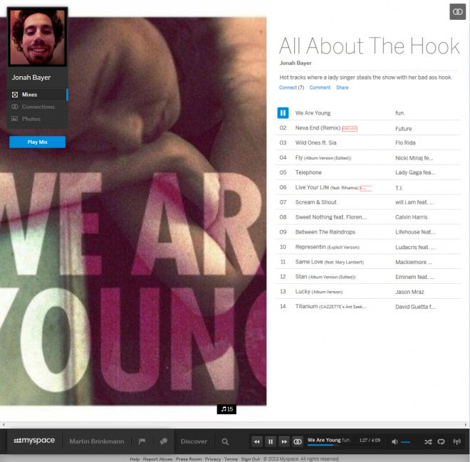 The New MySpace Hadir Kembali