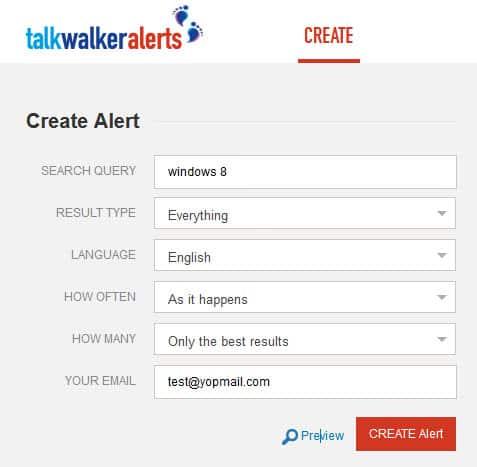 talkwalker alerts google alerts