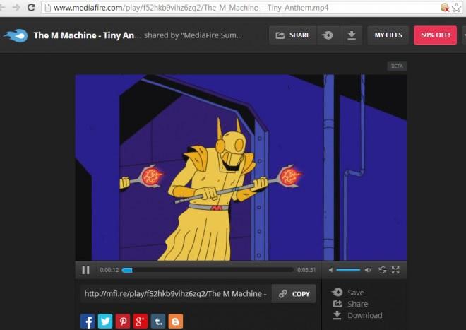 mediafire media streaming