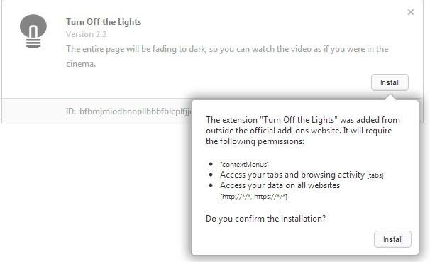 opera install extensions