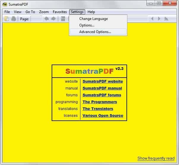 sumatra pdf 2.3