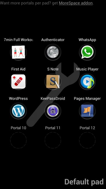 swipepad android launcher 371x660 - Launch an apps without leaving the window you are working in