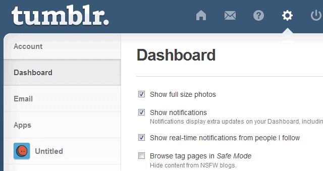 Tumblr sicherer modus deaktivieren