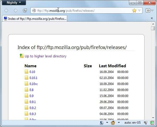 download old firefox versions