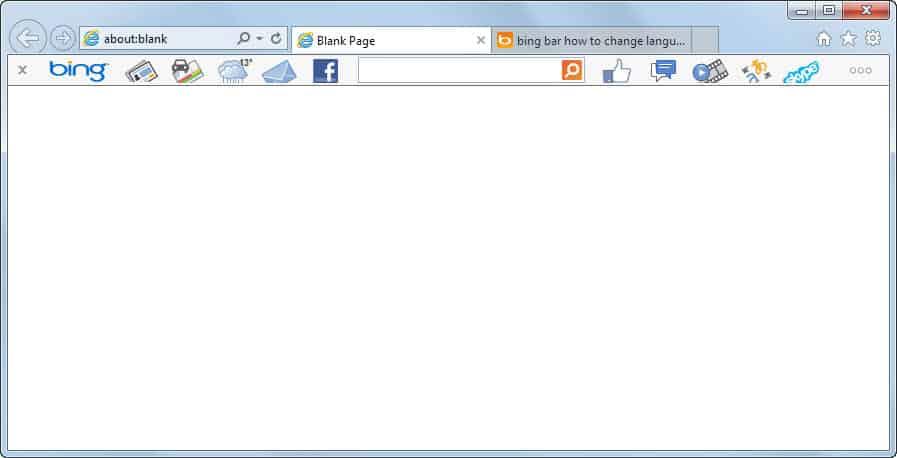 How to uninstall the Bing Bar - gHacks Tech News